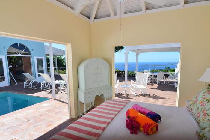 Plumeria Villa: Master Bedroom